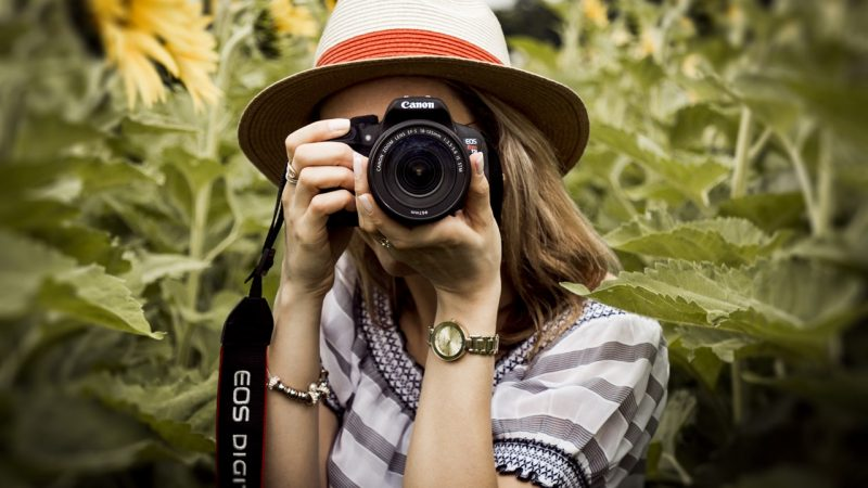 Taking photos are best lifestyle to live