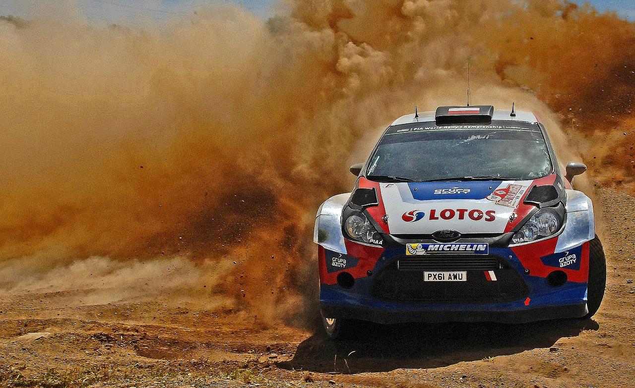 Desert racing got more eyes than on road