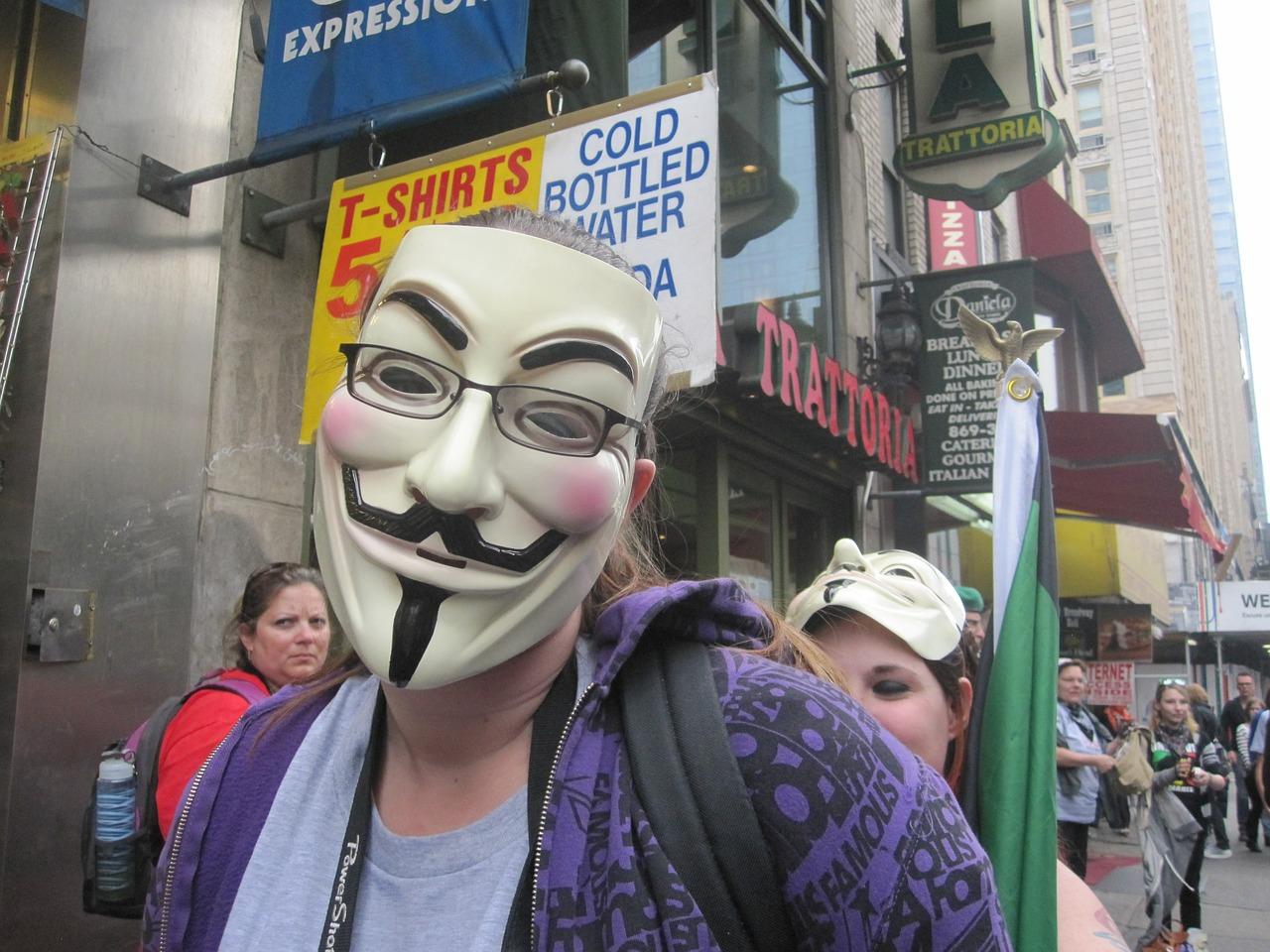 Anonymous team are threatening