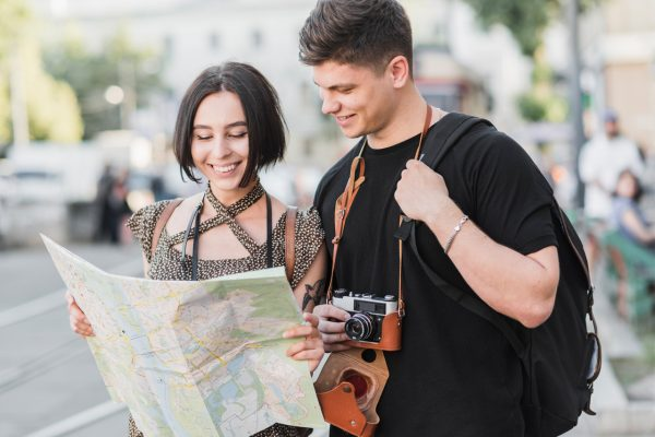 Get your own map before travelling