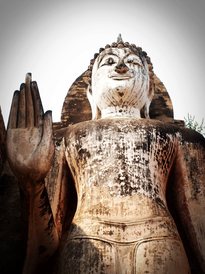 Lord Buddha's statue is found here