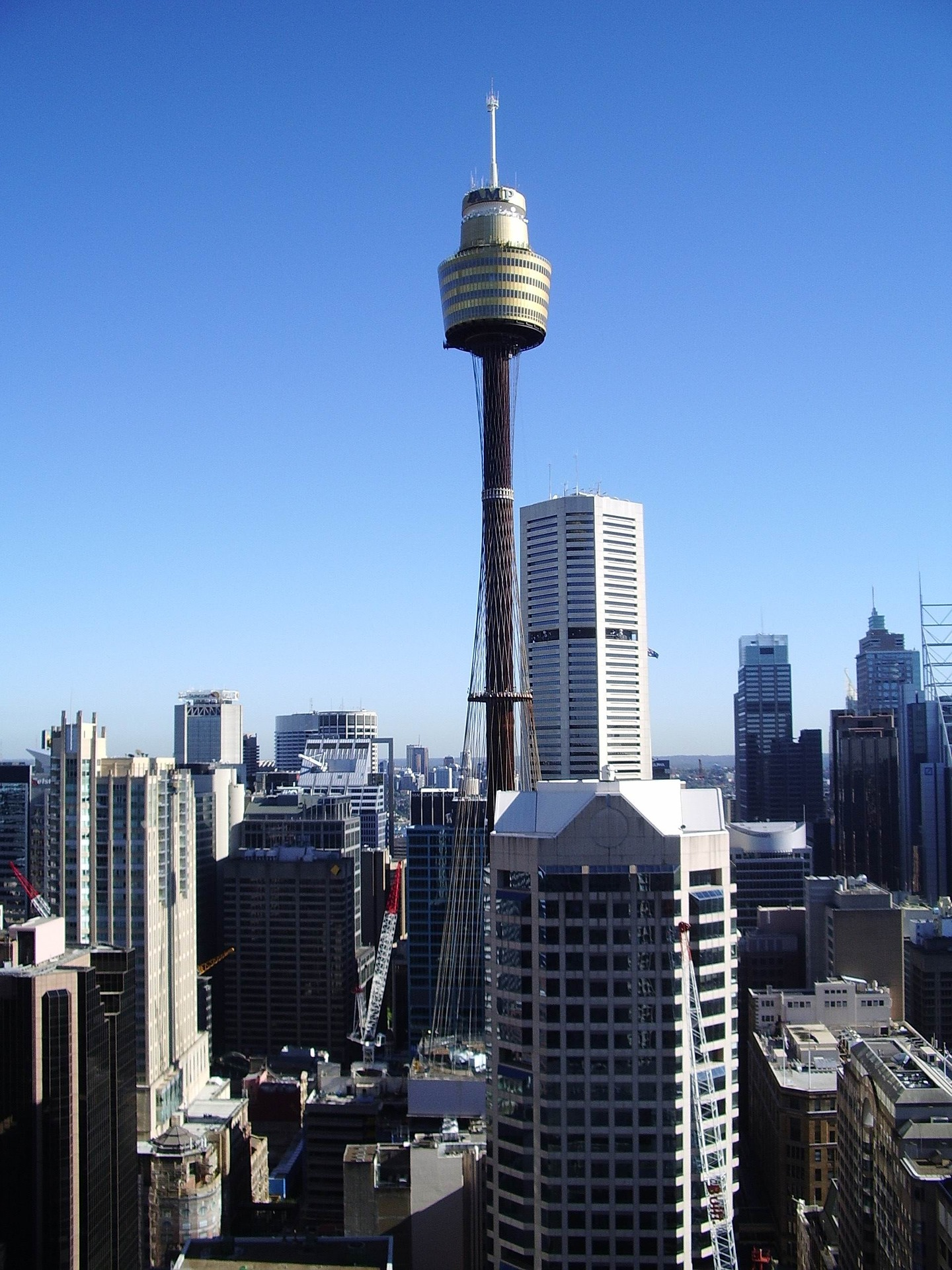 A view tower is tallest building built