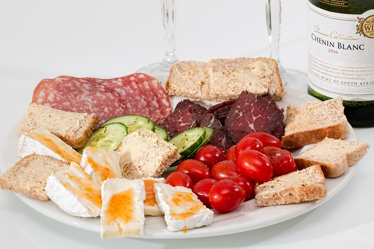 Raw foods items