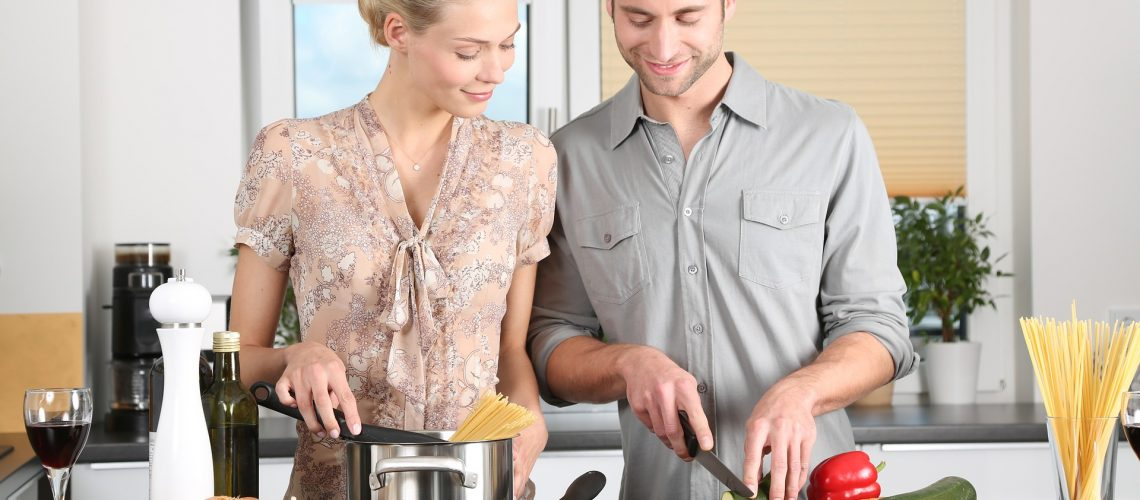 Helping to cook foods