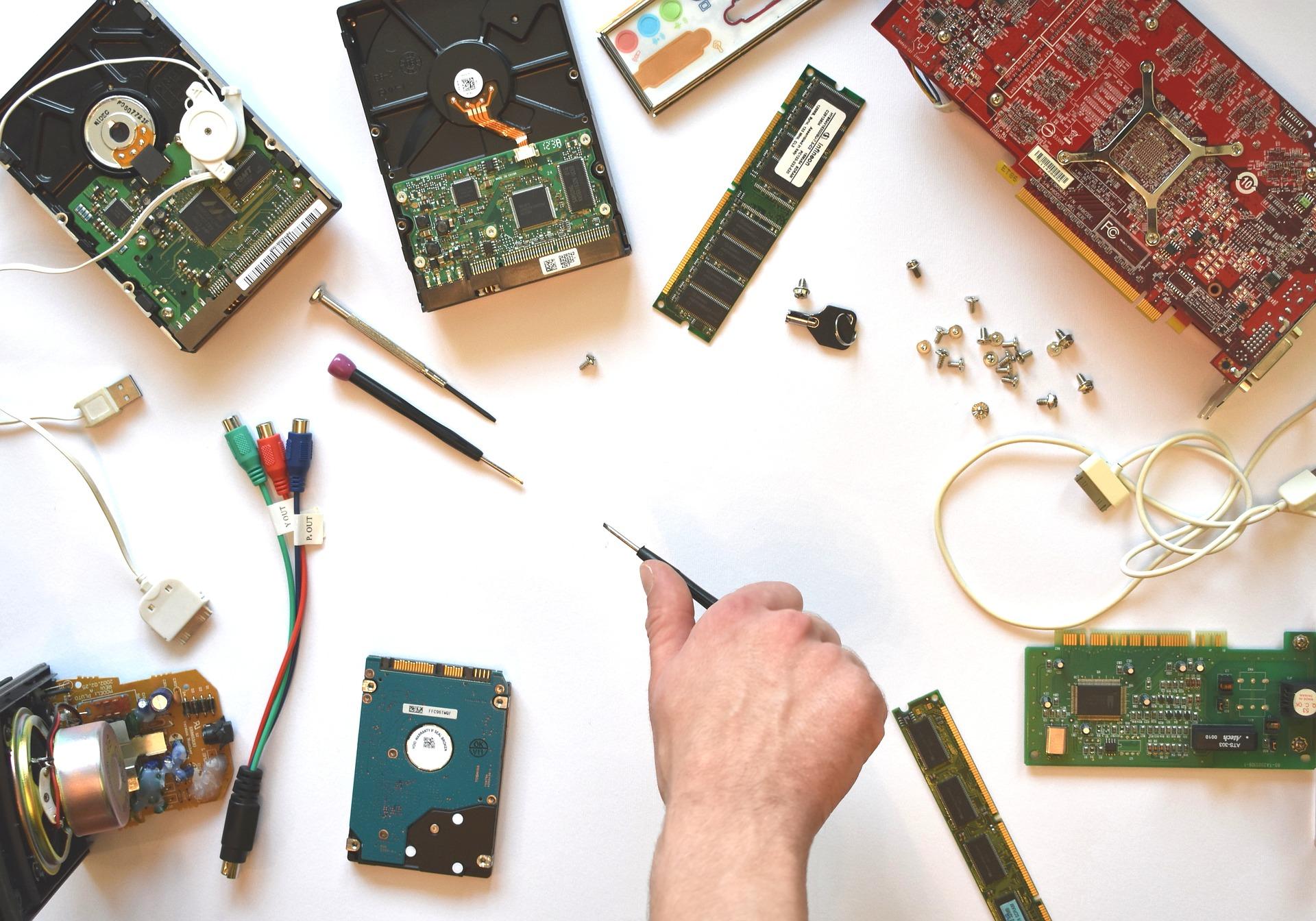 Repair hardwares, gain engineering knowlwdge