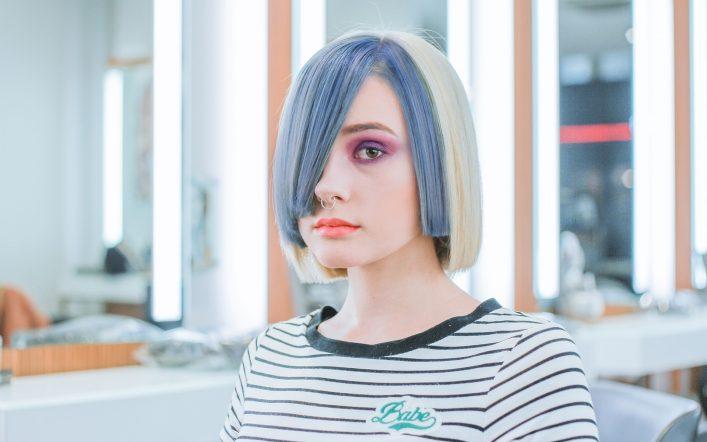 Lady with killer looks has thai cut hair