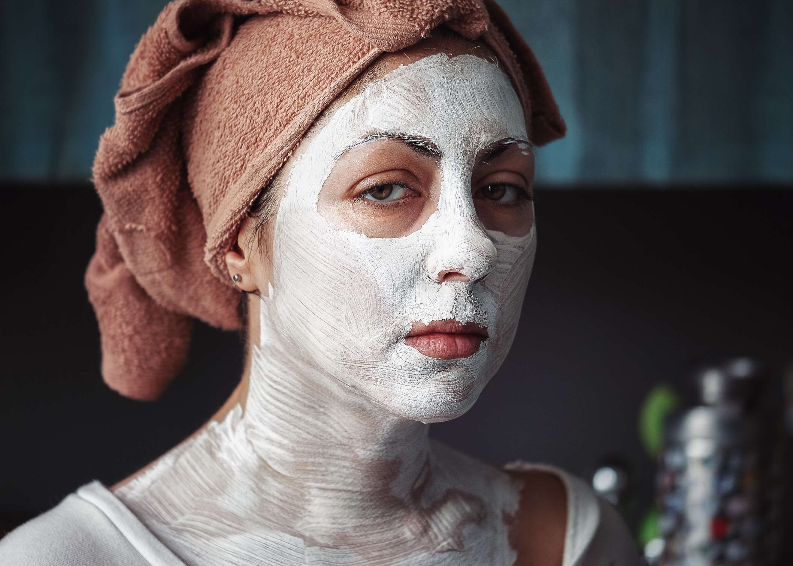 Protect your face skin with creams